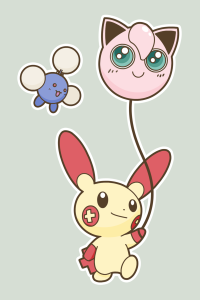 Plusle_with_Balloon_by_BrownKirby